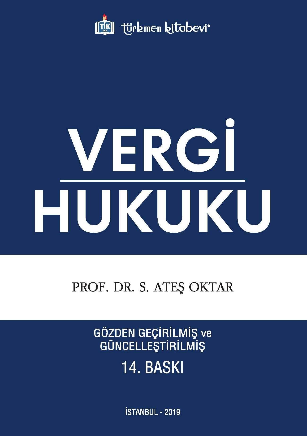 Vergi Hukuku (14. Basım)