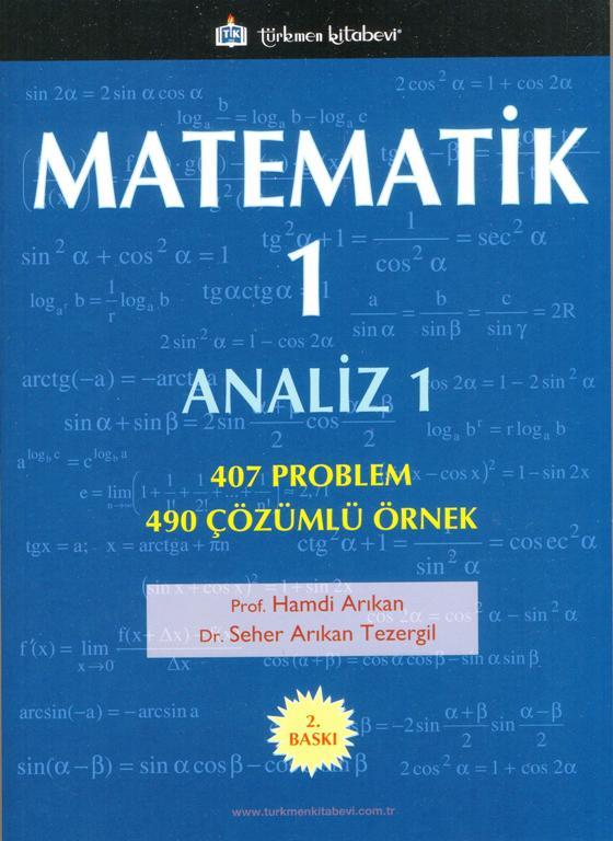 Matematik - 1; Analiz - 1