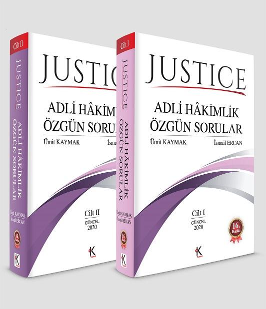 Justice - Adli Hakimlik Özgün Sorular (2 Cilt Takım)