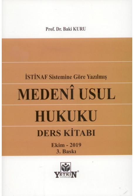İstinaf Sistemine Göre Yazılmış Medeni Usul Huku Ders Kitabı
