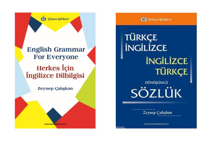 İngilizce Dilbilgisi ve İngilizce Dönüşümlü Sözlük