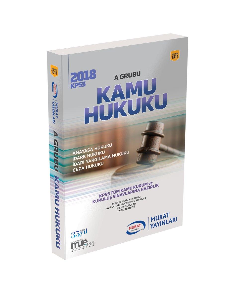 2018 KPSS A Grubu Kamu Hukuk
