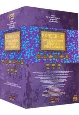 Konsensus KPSS Kurum Sınavları; Hukuk Soru Bankası