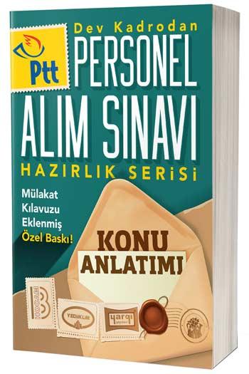 PTT Personel Alım Sınavı Hazırlık Serisi Konu Anlatımı Mülakat Kılavuzu Ekli