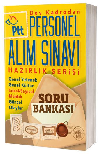 PTT Personel Alım Sınavı Hazırlık Serisi Soru Bankası